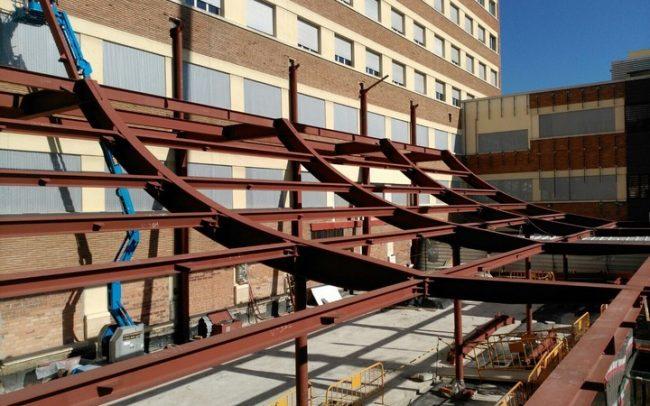 Projecte de Salgar Group Industrial, 1.3, S.L. - Fabricació d'Estructura metàl·lica