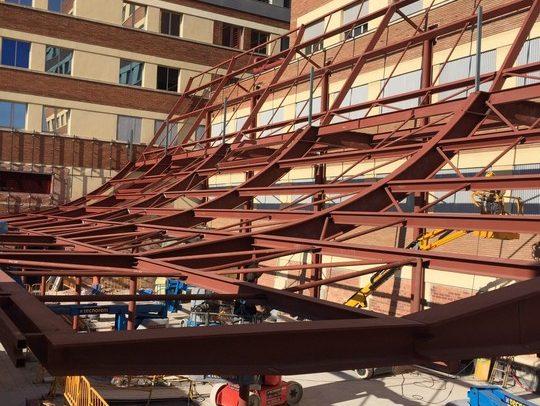 Proyecto de Salgar Group Industrial, 1.3, S.L. - Fabricación de Estructura metálica
