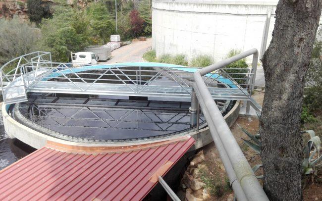 Proyecto de Salgar Group Industrial, 1.3, S.L. - Fabricación de Pasarela - Depuradora