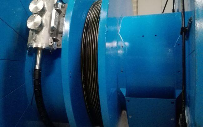 Bobines de transport - Cable submarí de Fibra Òptica