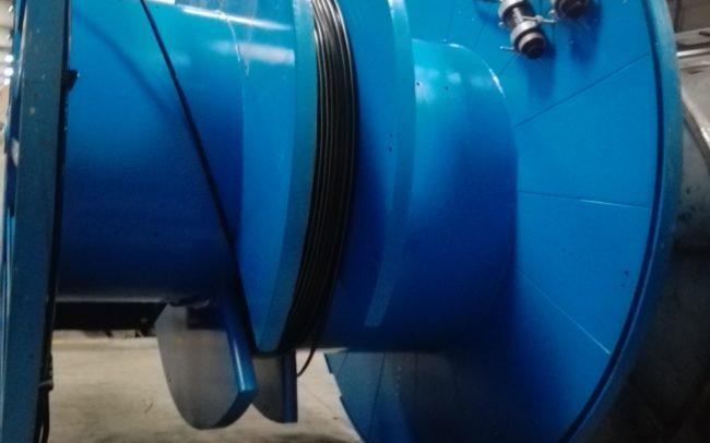 Transport coils - Fiber Optic underwater cable